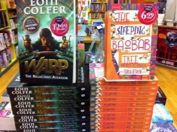 In brilliant company in Dubray Books, Kilkenny